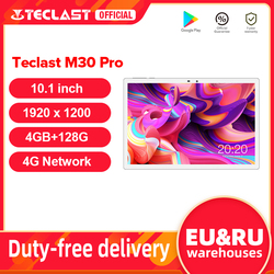 Teclast M30 Pro 10.1 Inch Tablet P60 8 Core 4GB RAM 128GB ROM Android 10 Tablets PC 1920x1200 IPS 4G Call Dual Wifi GPS Tablette