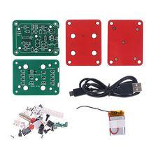 1 zestaw zestaw radia FM Stereo elektroniczny zestaw DIY 76-108MHz częstotliwości Radio przenośne narzędzia montażowe