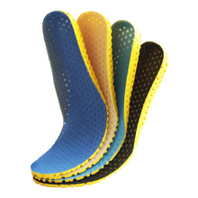 Sport Running Breathable Insoles Memory Foam Foot Health Care Heel Shock Absorption Insert Pad for Men and Women