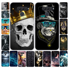 sFor LG K50 Case K 50 Soft Silicone TPU Back Cover For LG Q60 Phone Case Covers
