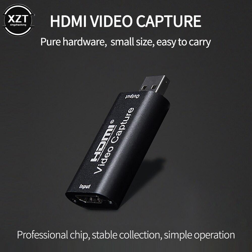 USB 3,0 HDMI видеозахват 1080p 60 кадров в секунду, записывающее устройство, записывающее устройство для PS4 OBS, игровой DVD видеорегистратор, записываю...