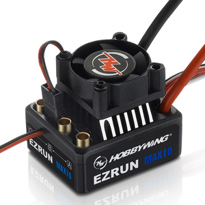 Image 5 - ESC imperméable Original dezrun MAX10 60A de Hobbywing avec lesc sans brosse de contrôleur de vitesse du BEC 2 3S Lipo 6V/7.4V pour la voiture 1/10 de RC