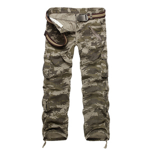 Image 3 - Hot sale free shipping men cargo pants camouflage  trousers military pants for man 7 colors