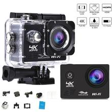 цена на Action Camera Sport Camera Ultra HD 4K  WiFi 2.0 170D Underwater Go Waterproof pro Helmet DV Video Recording Cameras Sports Cam