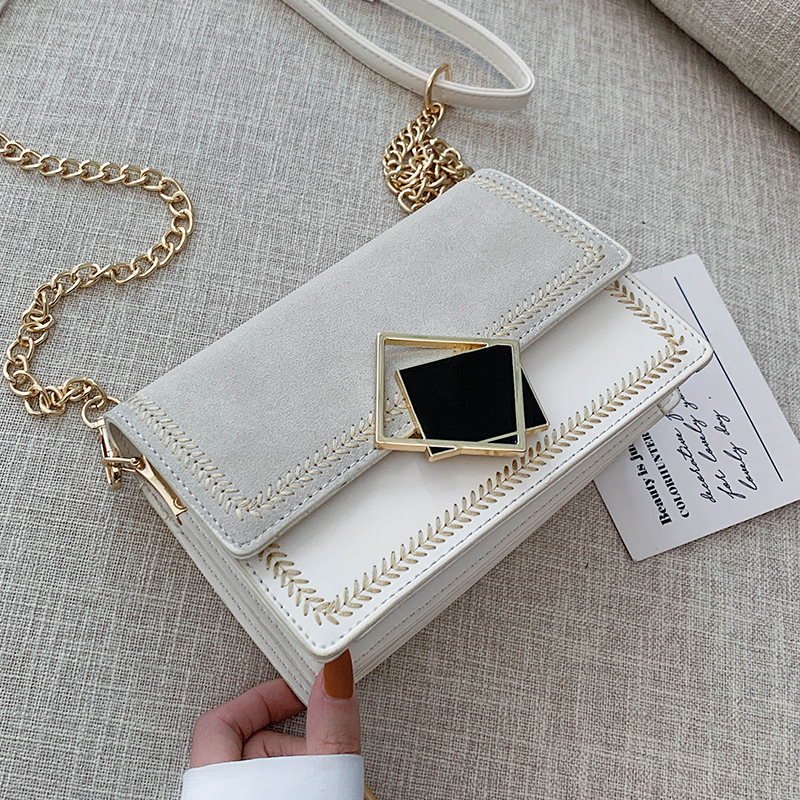 Scrub Leather Small Crossbody Bags For Women 2019 Chian Shoulder Bag  Sac A Main Female Travel Handbags And Purses Evening Bags