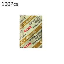 100 пакетов, дезоксидант, 30 куб. См, Кислородные поглотители для лунного торта, длительное хранение продуктов CO2 N58C