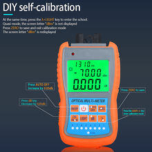 COMPTYCO AUA-G70B/50B 4in1 Mini Optical Power Meter Visual Fault Locator Network Cable Test optical fiber tester 10km 30km VFL