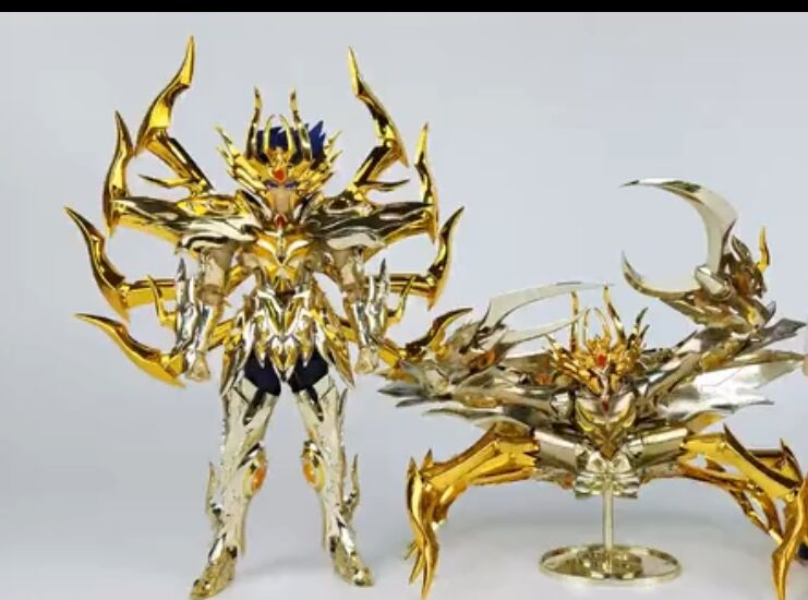 improve version AE Athena Exclamation model SOG Cancer DeathMask action figure metal armor toy with holy