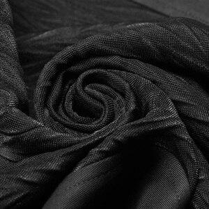 Image 5 - فاسق الهذيان القوطية الرجال الأسود درع منتصف طول جاكيتات معطف Steampunk العسكرية الرجال معطف المرحلة أزياء مسرحية البصرية Kei