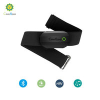 CooSpo Chest Heart Rate Monitor Strap Bluetooth 4.0 ANT+ Heart Rate Sensor Waterproof For Wahoo Garmin Bike Computer