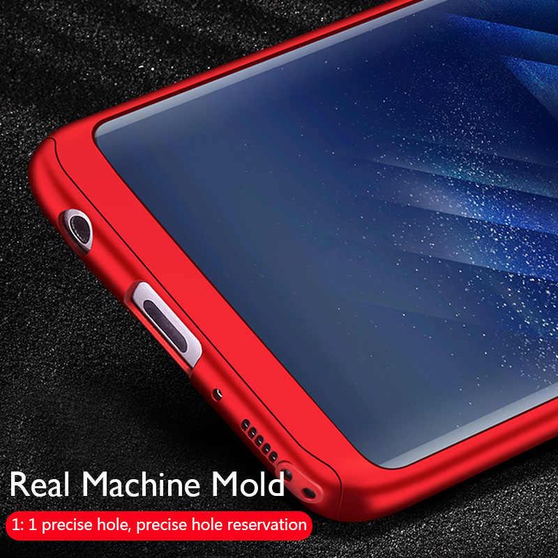 360 ฝาครอบสำหรับ Samsung Galaxy S20 Ultra S10 PLUS S9 S8 สำหรับ Samsung A50 A51 A40 a70 A71 หมายเหตุ 10 8 9