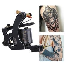 Специальный Серебряный классический сплав тату машина обертывание катушки татуировки пистолет роторный лайнер шейдер Перманентный макияж татуировки машины поставки