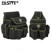 Oxford Cloth Multi-functional Electrician Tools Bag Waist Pouch Belt Storage Holder Organizer Garden Tool Kits Waist Packs
