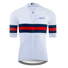 LECOL Cycling Jersey Clothing Bicycle Mtb Bike Downhill Breathable Quick Dry Shirt Men Short Sleeve 2021 Pro Team Summer S01