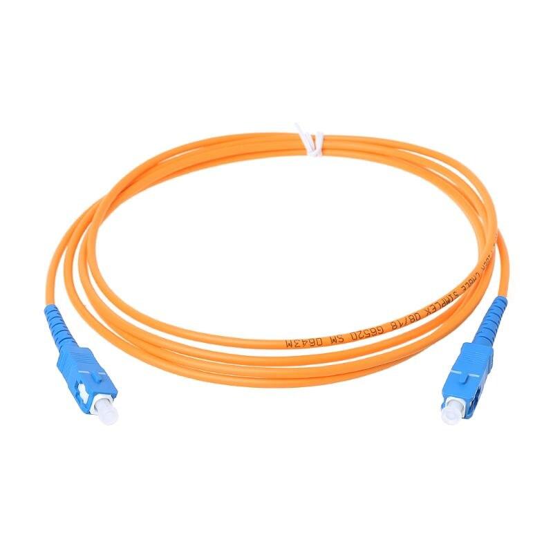 SC/UPC-SC/UPC-SM 3mm Fiber Optic Jumper Cable Single Mode Extension Patch Cord 2