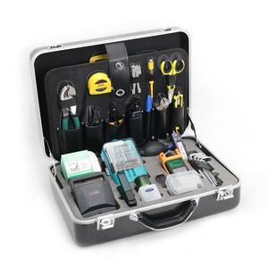 Image 1 - Комплект инструментов для работы с оптическим кабелем KOMSHINE, комплект инструментов для работы с оптическим кабелем FTTH с измерителем мощности, Кливер, устройство для зачистки оптоволокна, устройство для зачистки кабелей, ножницы из кевлара