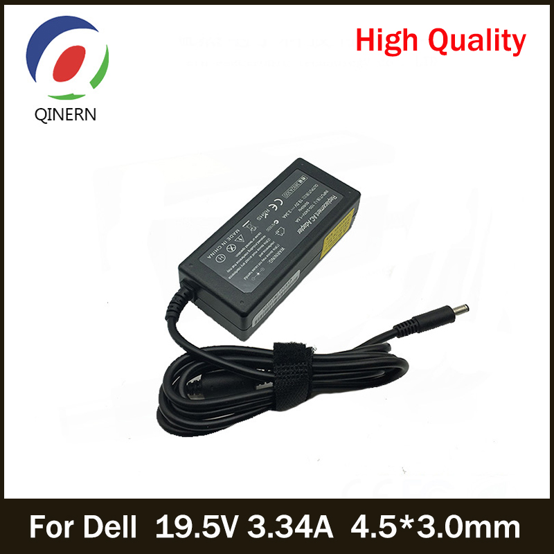 19.5V 3.34A 65W 4.5*3.0mm Laptop Charger Adapter For Dell Inspiron 15 3551 3552 3558 5551 5552 5555 5558 5559 7568 P28E P57G