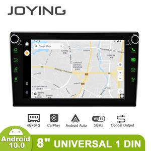 Image 3 - JOYING Android 10.0 head unit 8 inch IPS 1280*720 4GB+64GB car radio player GPS Navigation stereo RDS  DSP support 4G&Carplay&BT