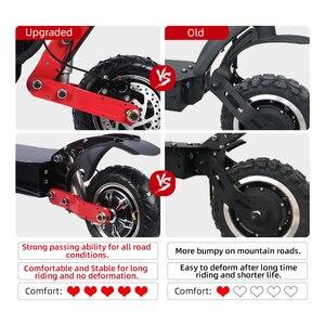 Электрический скутер Halo Knight 70 км/ч 52 в 2400 Вт с сиденьем 10 дюймов с двойным приводом, вакуумные шины 90 км, складной E скутер для взрослых