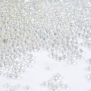 Caviar Beads Crystal Tiny Rhinestones For Manicure Glass Balls Colorful Micro Bead Diy Charms Nail Art Decorations Accessories image