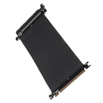 PCI Express Hoge Snelheid 16x Flexibele Kabel Kaart Uitbreiding Poort Adapter Riser Card Voor Custom Chassis