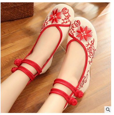 Women Sport Embroidered Dance Shoes Ladies Girls Jazz Practice Dancing Shoes Dance Sneakers Zapatos Mujer Zapatos Baile Latino