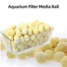 20/50/100 шт. аквариум фильтр СМИ, активированный уголь мяч Bio для аквариума медиа активированный уголь сетчатый мешок биологической мяч для фильтр для аквариума