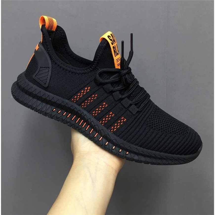 New Mesh Men Sneakers Casual Shoes Lac-up Men Shoes Lightweight Comfortable Breathable Walking Sneakers Zapatillas Hombre Shoes