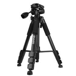 Q111 58 Cal profesjonalny kompaktowy aluminium statyw kamery kamery stojak z Quick release płyta do lustrzanki cyfrowej Canon Nikon Sony w Statywy od Elektronika użytkowa na