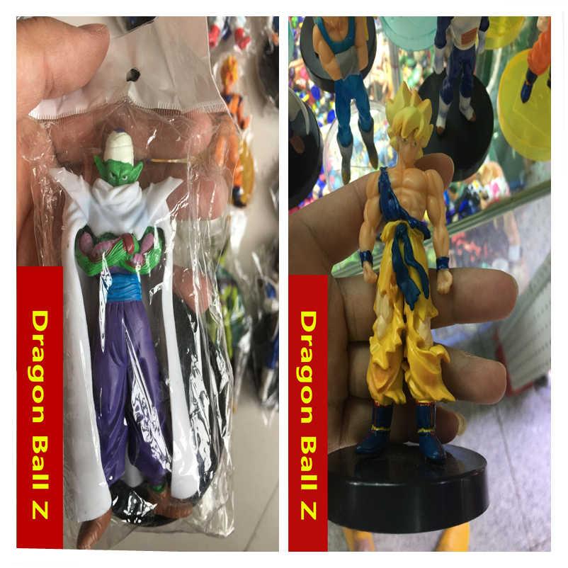 80 estilos gkresin 14 centímetros Dragon Ball Z Super Saiyan Goku vegeta Brolly Trunks Action Figure Coleção Modelo de freezer brinquedo de Presente