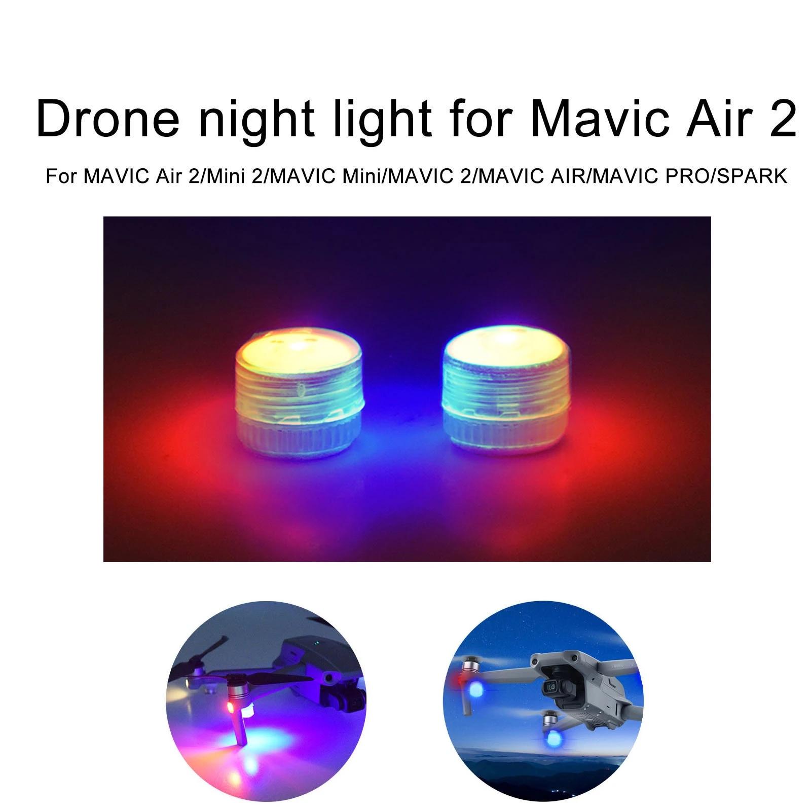 LED Light Night Navigation Light Lamp For DJI Mavic Mini//Air 2//PRO Accessories