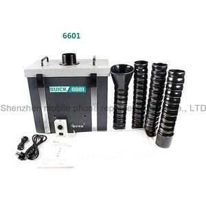 Image 2 - QUICK 6601/6602 purificador de humo, instrumento para fumar, protección del medio ambiente, sistema de depuración de humos de Posición única/Dual