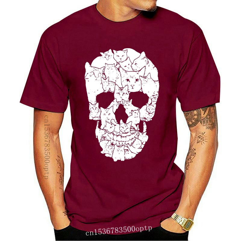MEXICAN SKULL SCREEN PRINTED COTTON T SHIRT//SKULL//Plus//REAPER//Lady//TOP