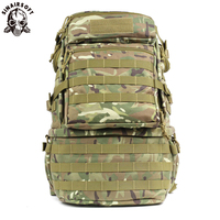 Outdoor Field Multi function Tactical Military Backpack Ilitary Fishing Waterproof Molle Pack Trekking Hunting Camping Bag 65L