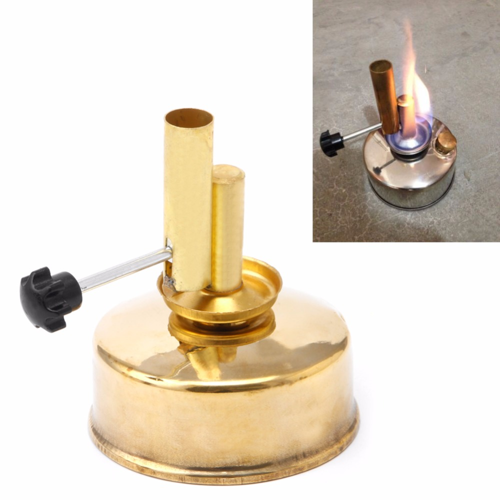 Brass Alcohol Lamp Blow Torch Alcohol Blast Burner 150ml Lab Equipment Heating