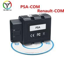 Qualità PSA COM Bluetooth Connect per Citroen per Peugeot Sostituire di Può Fermare Renault COM PSA COM OBD2 Strumento di Diagnostica