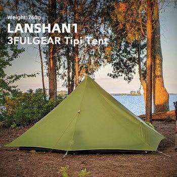 3F UL GEAR Lanshan 1 Ultralight Camping 3 Season 15D Tent 2