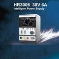 Hr3006 atualizado 30 v 6a osciloscópio atual regulador de tensão inteligente hr3006 com porta de carregamento em jejum para ferramenta de reparo do telefone