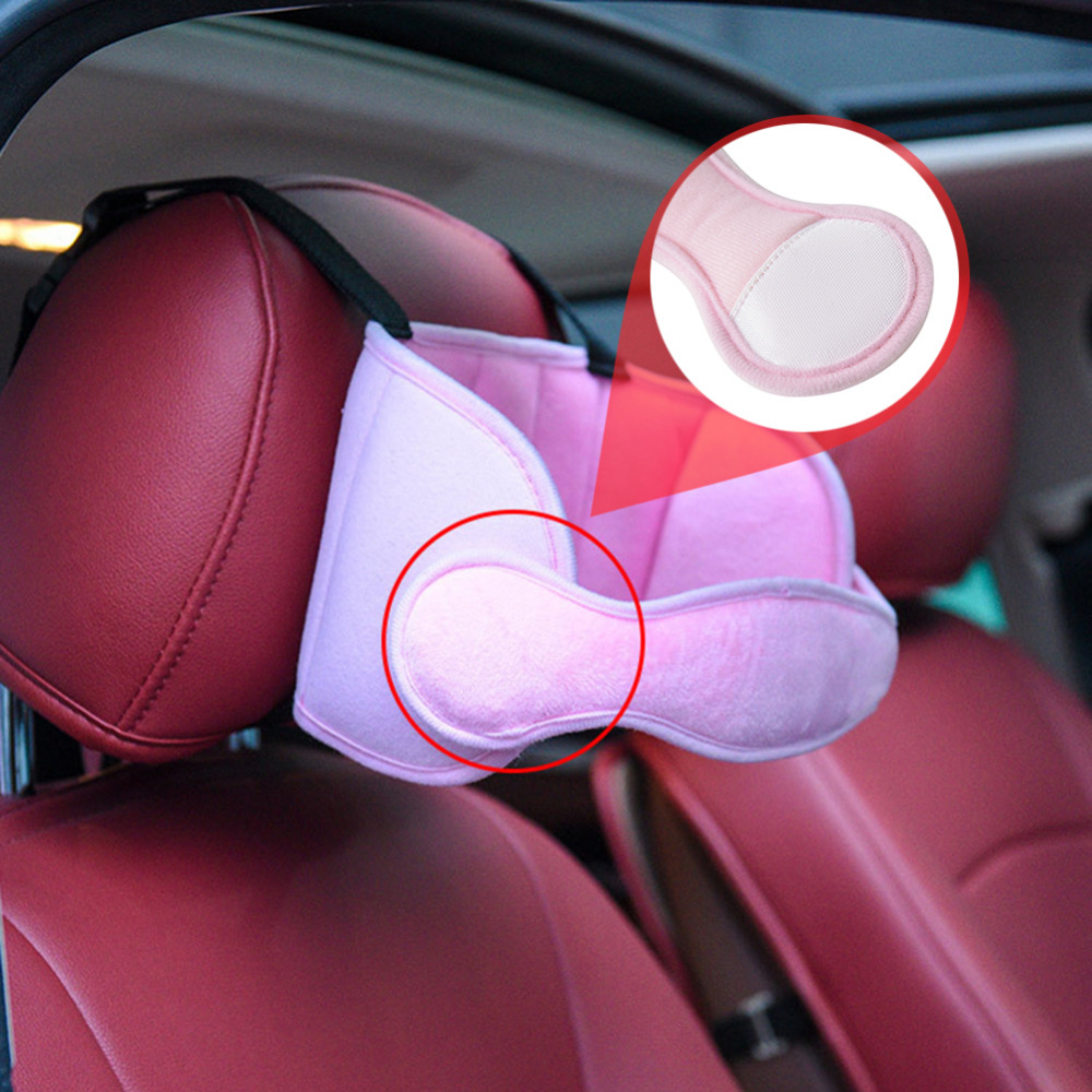 Kid's Adjustable Car Seat Head Support - Beyond Baby Talk