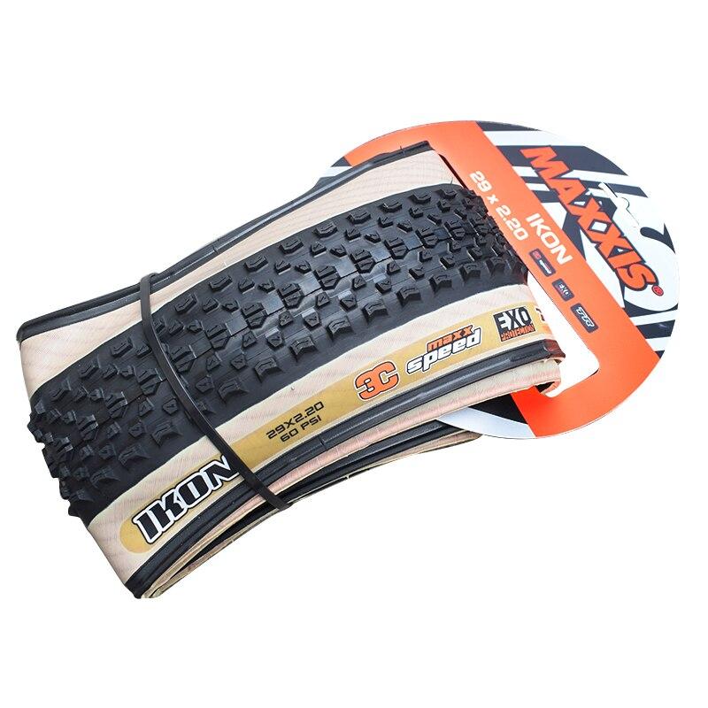 Maxxis tubeless bicicleta pneus 29*2.2 ultraleve 3c anti punctura 29 pneus mtb sem câmara de ar pronto tr 29er mountain bike bege lado