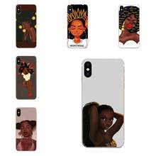 Special Offer Phone Case For Samsung Galaxy Note 5 8 9 S3 S4 S5 S6 S7 S8 S9 S10 5G mini Edge Plus Lite Queen Afro Melanin(China)