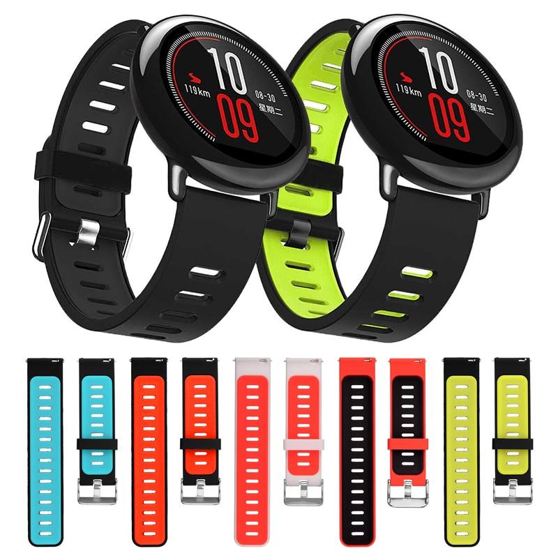 Спортивный силиконовый ремешок для девочек; Мини-Юбка Для Xiaomi Huami Amazfit Bip BIT PACE Lite Youth умные часы сменный ремешок