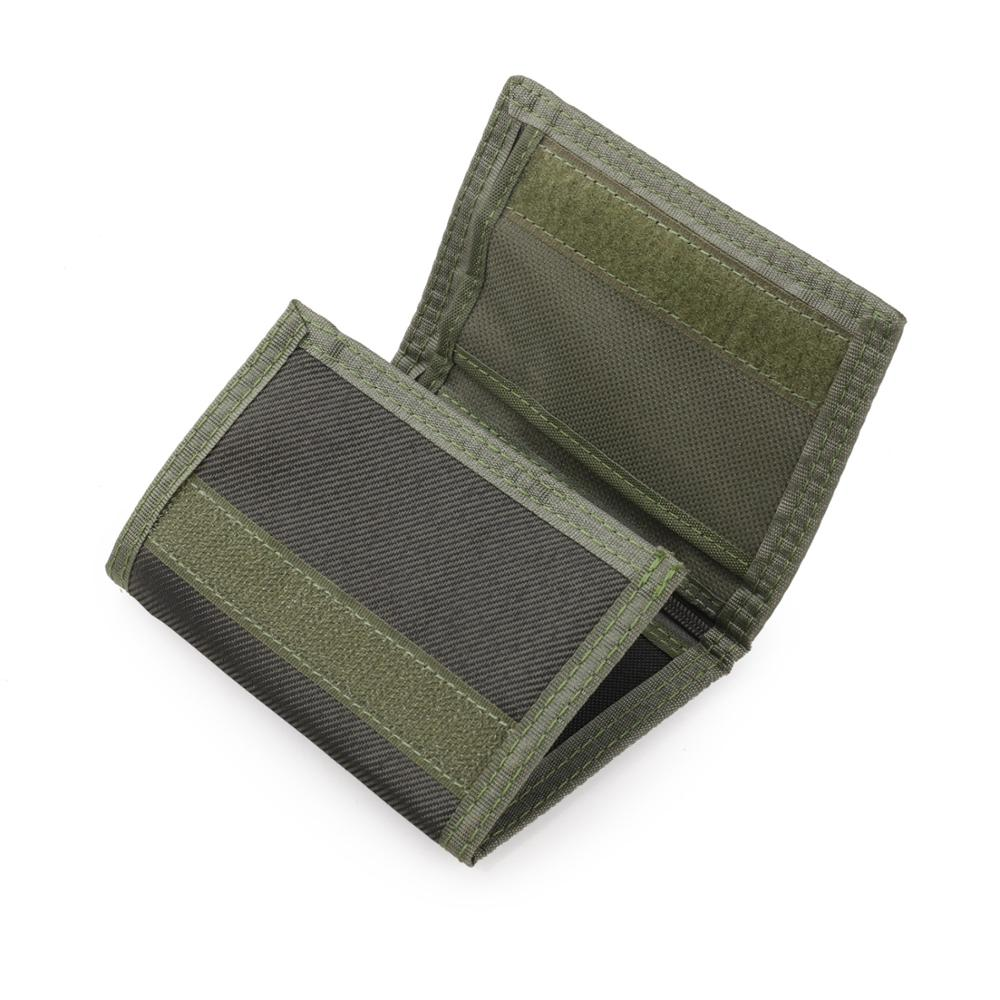 Nylon Trifold Casual Wallet for Male Men Women Young Novelty Money Bag Purse Zipped Coin ID Card Holder Pocket Kids