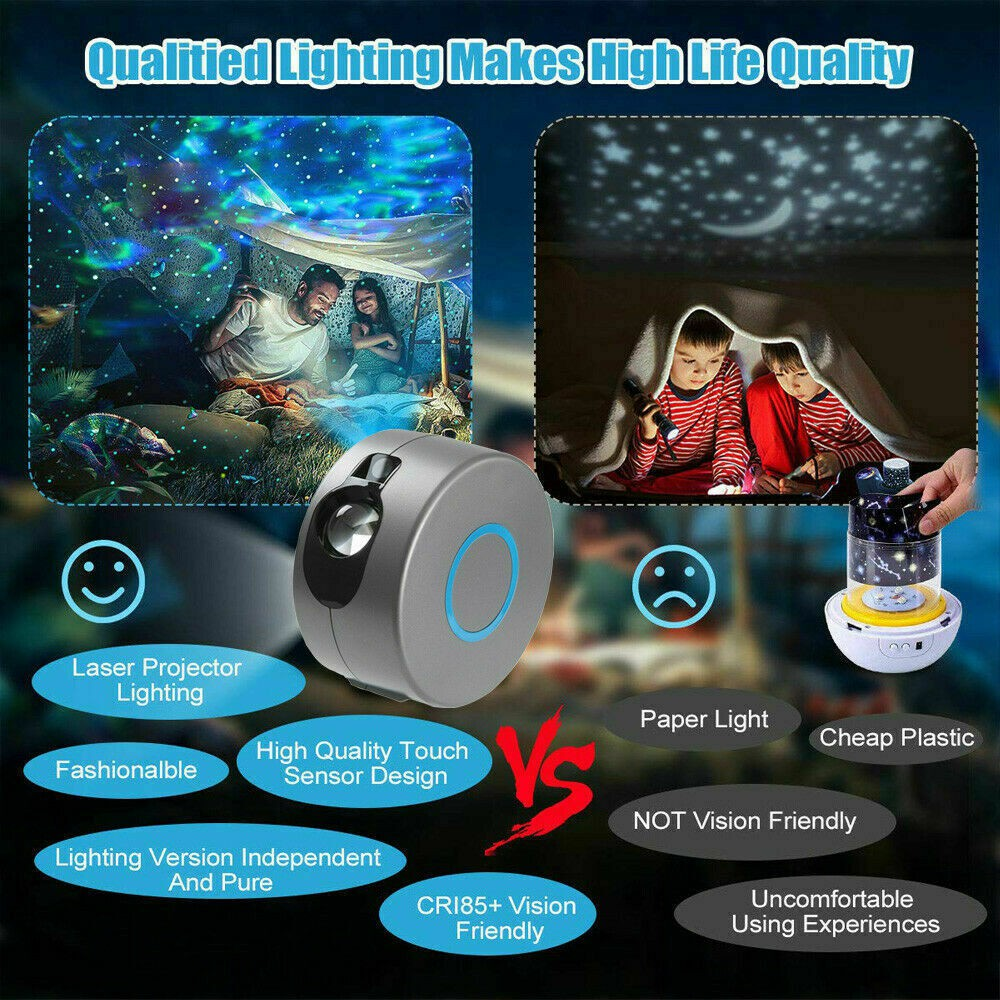 Starry Night Light Laser Projector For Kids 3