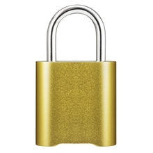 Smart-Fingerprint Bluetooth Wiederaufladbare Keyless Vorhängeschloss Entsperren Wasserdicht Home Security App IOS Geteilt Türschloss