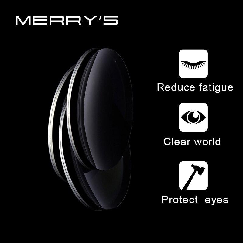 MERRYS 1,56 1,61 1,67 lentes multifocales graduadas miopía hipermeía resistencia corto lente de distancia media - 4