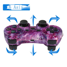 KISHAKO Bluetooth Controller For SONY PS3 Gamepad For PlayStation 3 Wireless Joystick For Sony Playstation 3 PC SIXAXIS Controle original 3 colorful wireless bluetooth game controller for sony playstation 3 for ps3 controle joystick gamepad christmas
