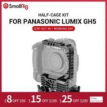 SmallRig estabilizador para cámara DSLR, Kit de media jaula para cámara Panasonic Lumix GH5 con empuñadura de batería con abrazadera de varilla de 15mm 2024