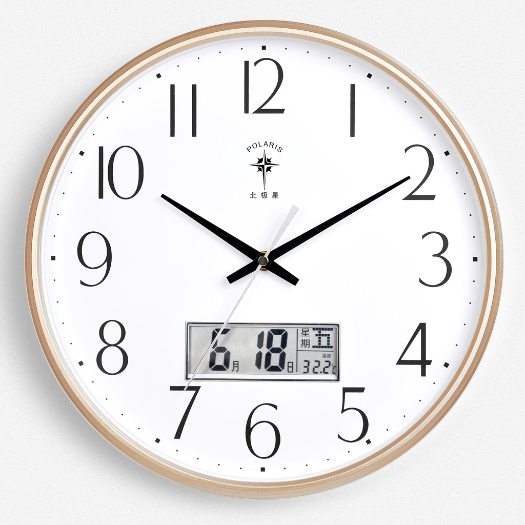 Nordic Silent Wall Clock Classic Simple Date Modern Design Wall Clock Living Room Children Zegar Scienny Home Decoration JJ60WC