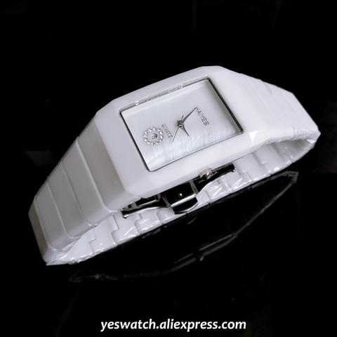 HAIYES Fashion Men Watches Top Brand Luxury Ceramic Quartz Watches Men Steel Leather Stylish Wrist Watches Relogio Maculino Lahore